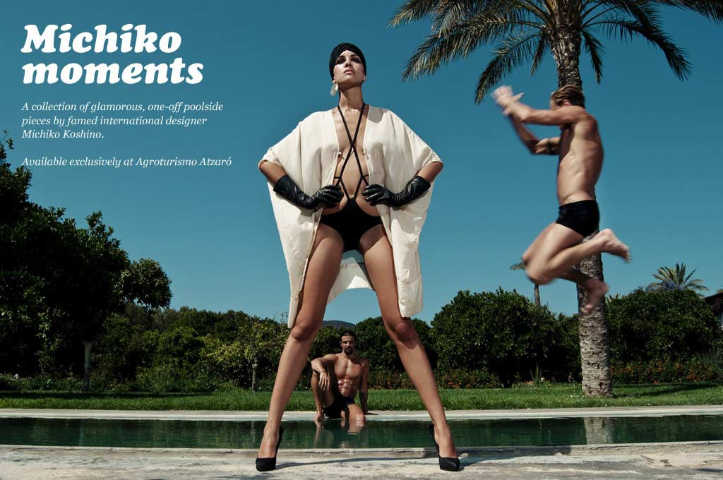 Michiko Koshino Smack Ibiza Make Up