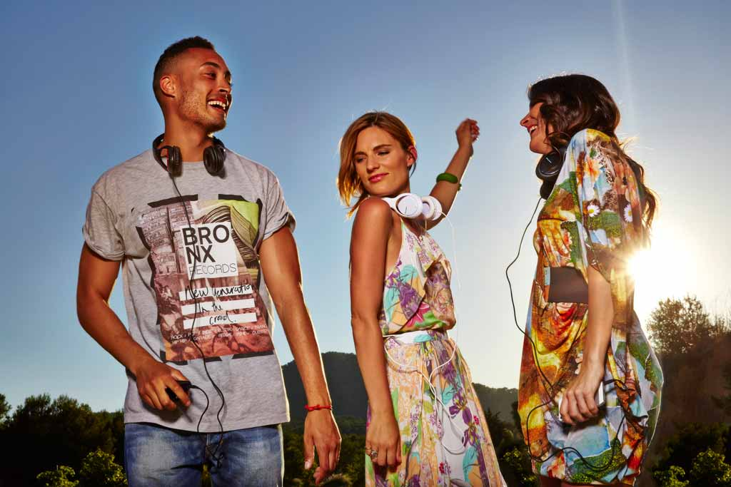 Pioneer Headphones Campaign Smack Ibiza Make Up