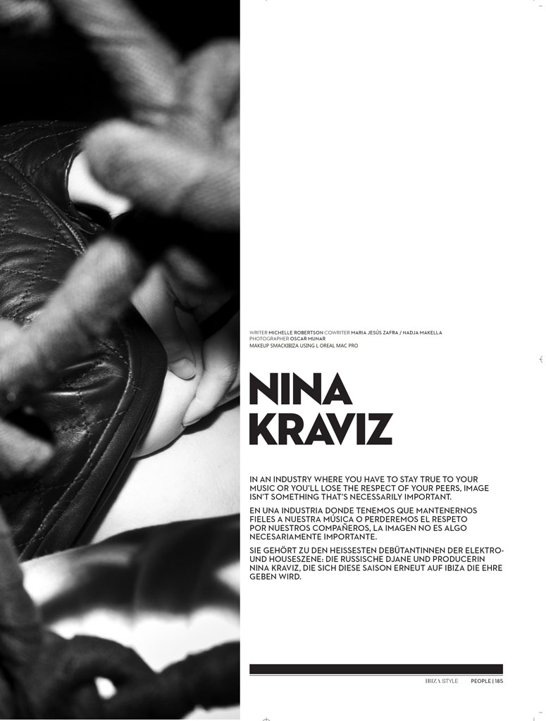 Nina Kraviz - Smack Ibiza Make Up