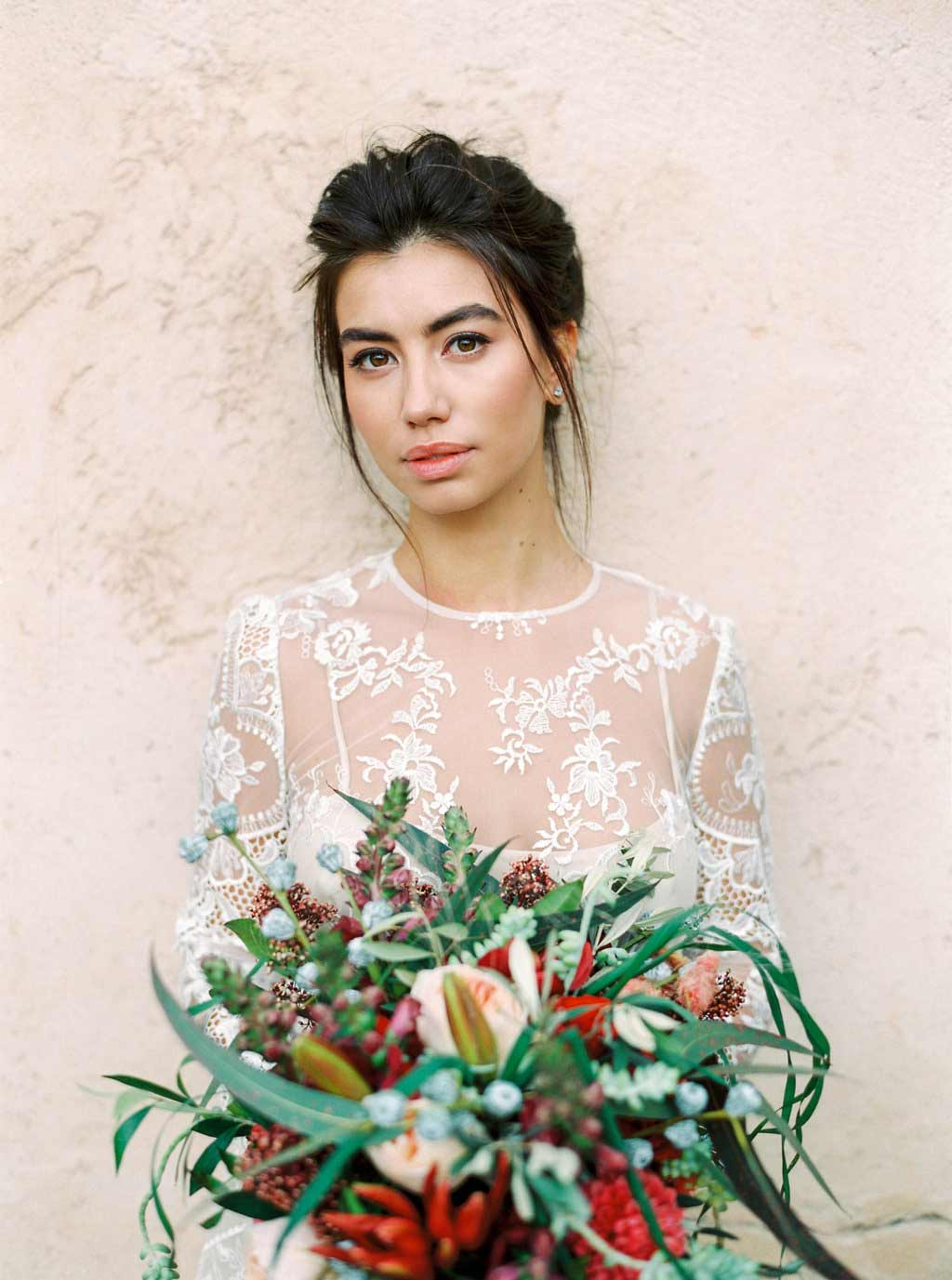 Rustic Bridal inspriation Smack Ibiza Make Up