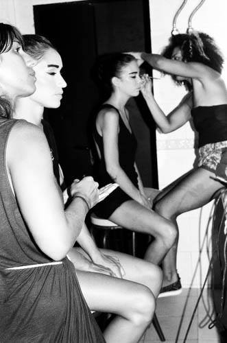 Cocoon Backstage 2015 Smack Ibiza Performance Make Up